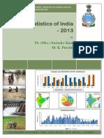Rainfall Statistics of India - 2013