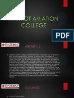 Patriot Aviation College, IATA Training center thrissur.