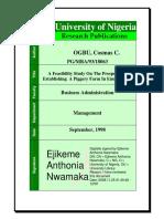 A Feasibility Study On The Prospects Of Establishing A Piggery Farm In Enugu-Ezike.pdf