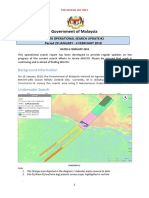 MH370 OPERATIONAL SEARCH UPDATE #2   Period 29 JANUARY - 4 FEBRUARY 2018