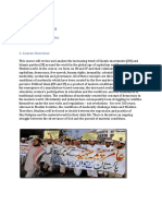 Islamic Movements Syllabus