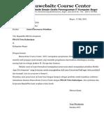 Contoh Surat Penawaran Program Kursus