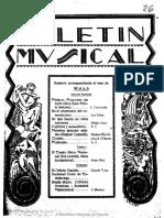 Boletín musical (C_doba). 5-1930, n._ 26