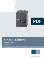SINAMICS DC Converter Manual