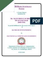8TH SEM PRO Ack,Certificate