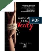 339721798 Elizabeth Wein Nume de Cod Verity