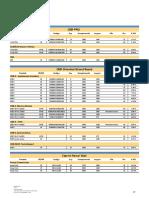 Tabela Preços - Jular 2010 Tabela de Placas
