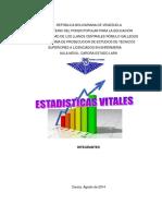 ESTADISTICAS VITALES