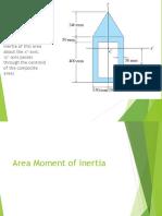Area Moment of Inertia