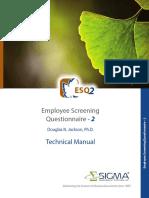 ESQ2 Technical Manual