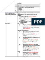 Cth Lesson Plan Year 1 2018 Cefr