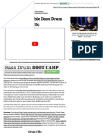 Beginner Double Bass Drum Fills - Free Bass Drum Lessons RESZLETES