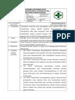 Sop Penyampai Informasi Hasil Peningkatan Mutu Layanan Klinis Dan Keselamatan Pasien.