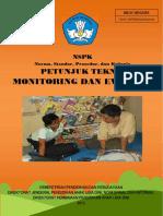 Petunjuk Teknis Monitoring Dan Evaluasi Tahun 2013 File