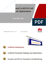 Huawei Dualband Co Bcch Cell Introduction and Optimization