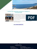 l'Office de Tourisme d'Estartit Change Sa Localisation
