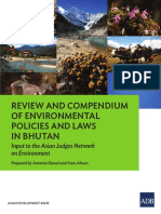 Environmental Policies and Laws in Bhutan