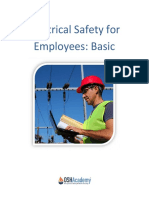 Basic Electrical Safety for Employees