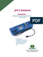 OTE-T700 Manual