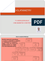 Applied Voltammetry -Vsm