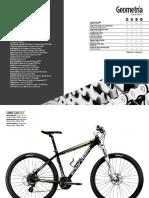 Ficha Tecnica - Bicicleta Conor 7200