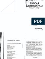 Theodor Viehweg. Tópica e Jurisprudencia. (OCR)
