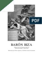 Baron Biza (No Ficción) Alegatos
