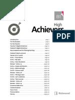 Achievers B1 Teacher's Resource Book