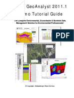 Hydro GeoAnalyst Demo Guide