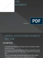 MEDIA AND ENTERTAINMENT SECTOR