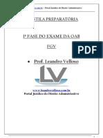 APOSTILA PREPARATÓRIA Administrativo..