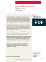 Obesity in Children Recstatement