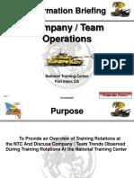Company Team Operations