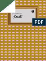 Dicenta Joaquin - Cual.epub