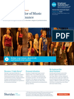 Bachelor of Music Theatre Performance En