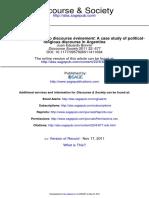 BONNIN Discourse Society 2011