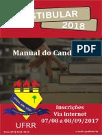 Manual Do Candidato Vestibular 2018