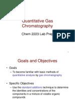 Quantitative Gas Chromatography