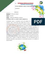 Educacion Ambiental Introduccion Doc