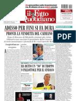 Il Fatto Quotidiano Del 7 Settembre 2010