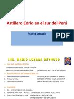 Astillero Corio en El Sur Del Perú