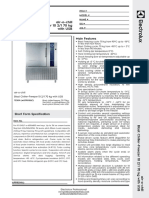 Electrolux 727674 Datasheet