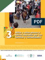 Niñas y niños plenos y felices Educados