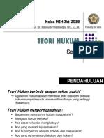 Theori Hukum 2018