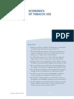 Economics of Tobacco Use