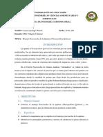 Informe Manejo Poscosecha de Quinua.