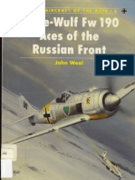 Osprey - Aircraft of the Aces 006 - Focke-Wulf Fw 190 Aces of the Russian Front