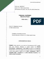 Resolucio Denega Llibertat Sanchez