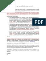 NMAT 2013 Analysis