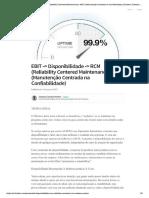 EBIT -_ Disponibilidade -_ RCM (Reliabi..